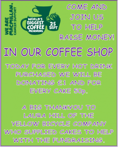 Macmillan Coffee Shop